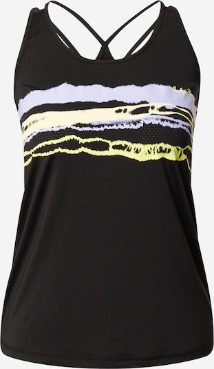 ONLY PLAY Haut de sport 'ARIAN' en jaune clair / lavande / noir, Vue avec produit