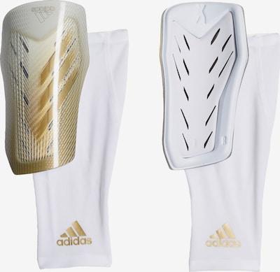 ADIDAS PERFORMANCE Schienbeinschoner 'X 20 Pro' in gold / weiß, Produktansicht