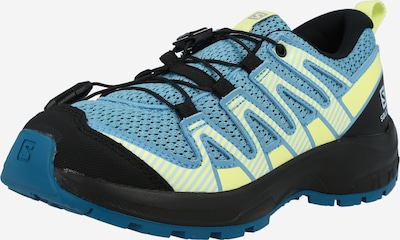 SALOMON Sportschuh in hellblau / neongelb / grau / schwarz, Produktansicht