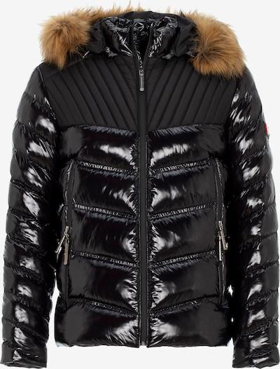 CIPO & BAXX Winterjas in de kleur Zwart, Productweergave
