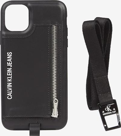 Calvin Klein Jeans Smartphonehülle in schwarz / weiß, Produktansicht