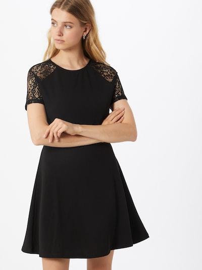 VERO MODA Robe 'JASMINE' en noir, Vue avec modèle