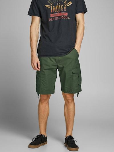 JACK & JONES Hose 'CHARLIE' in dunkelgrün, Modelansicht