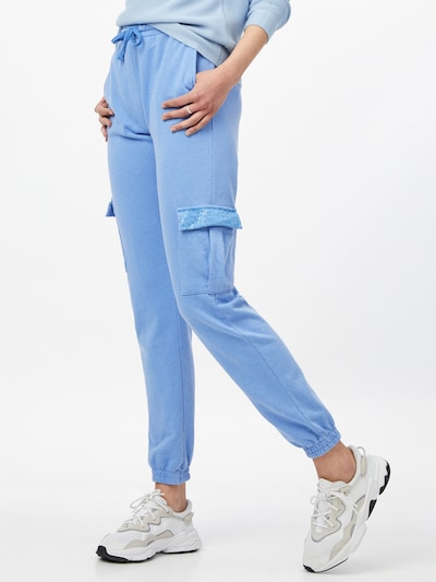 LTB Pantalon cargo 'SIZODE' en bleu fumé, Vue avec modèle