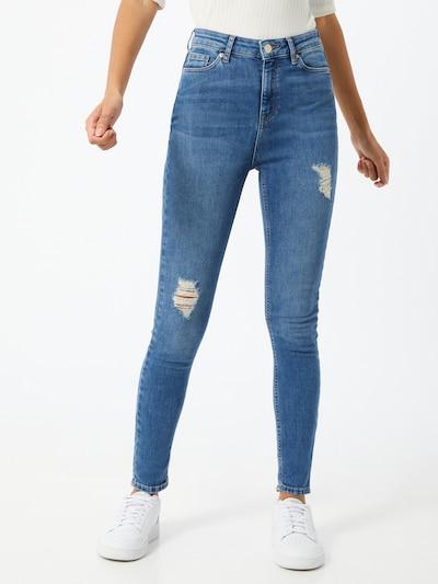 Miss Selfridge Jeans 'Lizzie' in blue denim: Frontalansicht