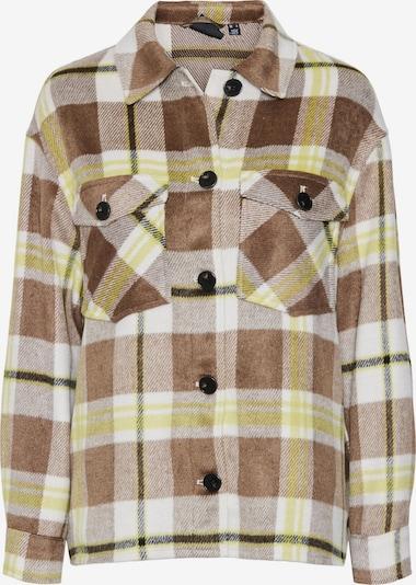 VERO MODA Between-Season Jacket in Brown / Yellow / White, Item view