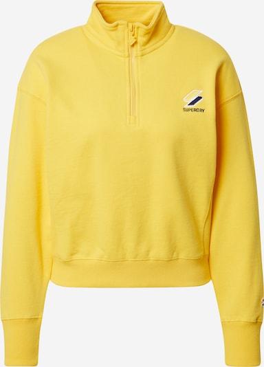 sárga / szürke / fekete / fehér Superdry Tréning póló 'Essential', Termék nézet