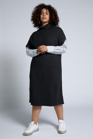 Studio Untold Gebreide jurk in Zwart