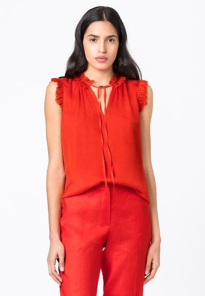HALLHUBER Bluse in rot, Modelansicht