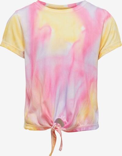 KIDS ONLY Koszulka 'Bria' w kolorze żółty / jasnofioletowy / różowym, Podgląd produktu