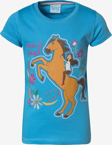 Spirit Shirt in Blau