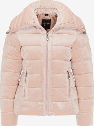 faina Jacke in Pink