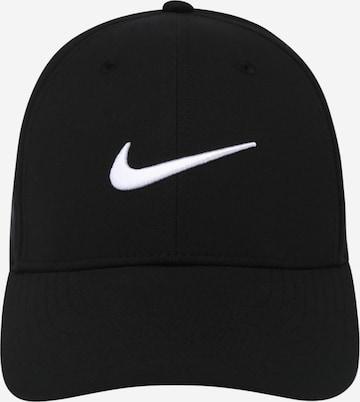 juoda NIKE Sportinė kepurė