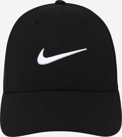 NIKE Sportpet in de kleur Zwart / Wit, Productweergave