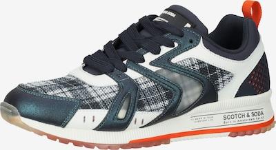 SCOTCH & SODA Sneaker 'Vivex' in dunkelblau / orange / weiß, Produktansicht