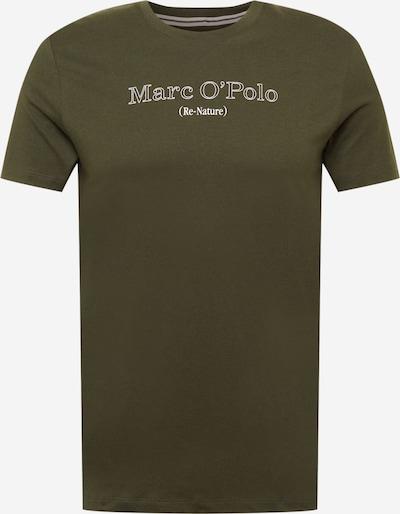 Marc O'Polo T-Shirt in oliv / weiß, Produktansicht