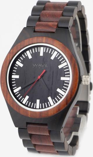 Wave Hawaii Montre à affichage analogique ' Sandelholz/Ebenholz ' en marron, Vue avec produit