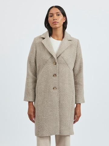 Manteau mi-saison 'Bobbie' VILA en beige