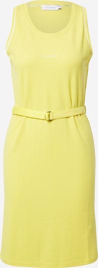 Calvin Klein Kleid in gelb / weiß, Produktansicht