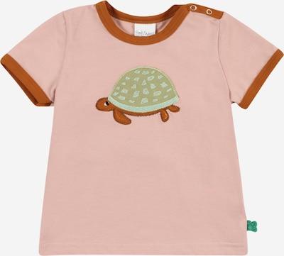 Fred's World by GREEN COTTON T-Shirt 'Hello Turtle' en marron / kaki / rose, Vue avec produit
