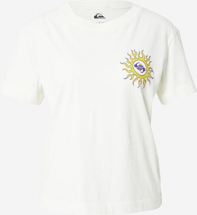 QUIKSILVER Camiseta en amarillo / lila oscuro / blanco, Vista del producto