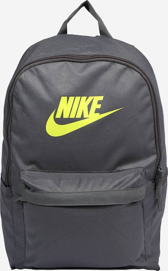 Nike Sportswear Sports backpack 'Heritage 2.0' in yellow / grey, Item view