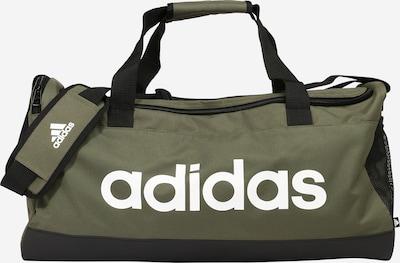ADIDAS PERFORMANCE Sportstaske i oliven / sort / hvid, Produktvisning