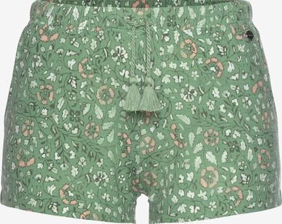 LASCANA Pyžamové nohavice - zelená / zmiešané farby, Produkt