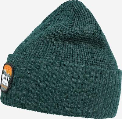 Coal Sportmütze in dunkelgrau / grünmeliert / mischfarben / dunkelorange / weiß, Produktansicht