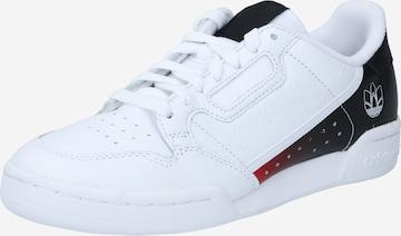 Baskets basses ' Continental 80  ' ADIDAS ORIGINALS en blanc