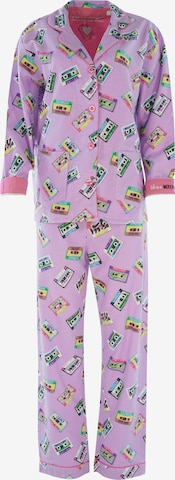 PJ Salvage Pajama ' Cozy Casual ' in Purple