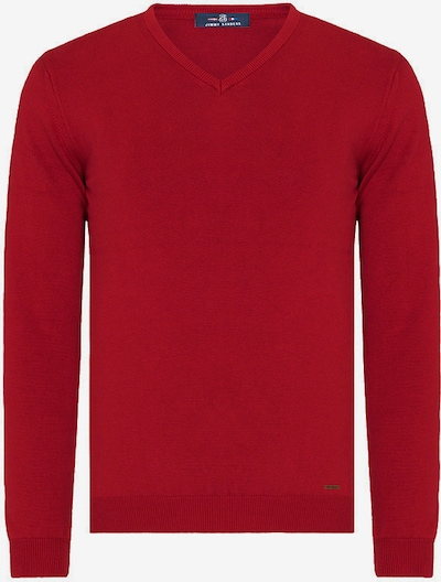 Jimmy Sanders Pullover 'Zolia' in rot, Produktansicht
