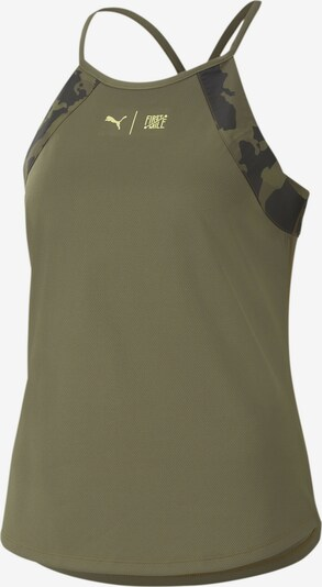 PUMA PUMA x FIRST MILE Damen Training Tank-Top in khaki, Produktansicht