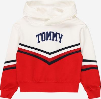 TOMMY HILFIGER Sweat-shirt en bleu marine / rouge / blanc, Vue avec produit