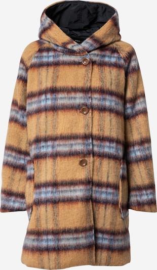OOF WEAR Mantel 'OF 18' in hellblau / hellbraun / dunkelrot / schwarz, Produktansicht