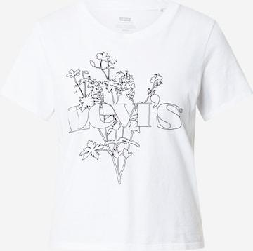 Tricou de la LEVI'S pe alb