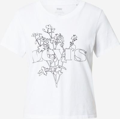LEVI'S T-shirt en noir / blanc, Vue avec produit