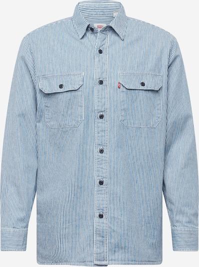LEVI'S Hemd 'CLASSIC WORKER' in blue denim / weiß, Produktansicht