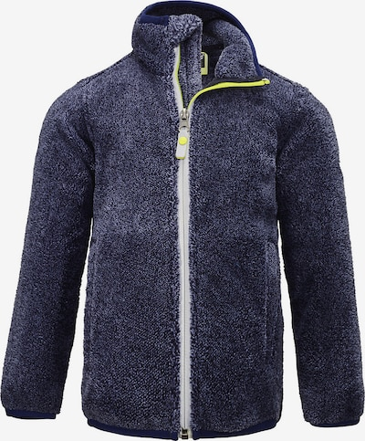 KILLTEC Jacke in dunkelblau / blaumeliert / weiß, Produktansicht