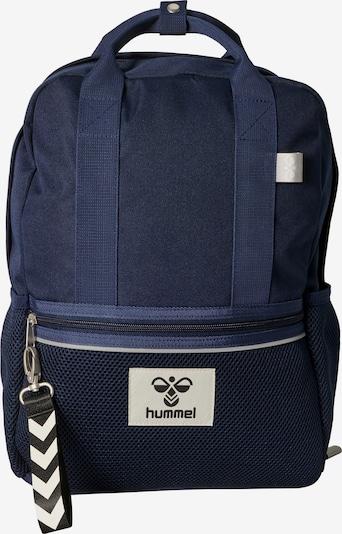 Hummel Sac à dos en bleu marine / blanc, Vue avec produit