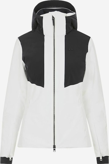 J.Lindeberg Winterjas in de kleur Zwart / Wit, Productweergave