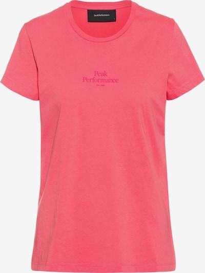 PEAK PERFORMANCE T-Shirt in cranberry, Produktansicht