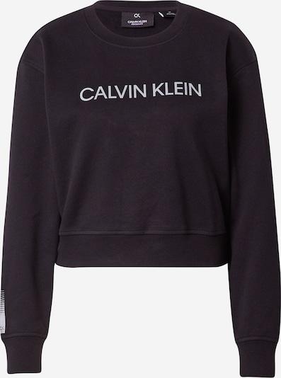 Calvin Klein Performance Sport sweatshirt i svart / vit, Produktvy
