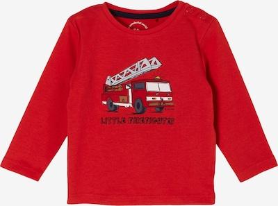s.Oliver Shirt in mischfarben / rot, Produktansicht