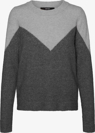 VERO MODA Sweater 'Plaza' in Basalt grey / Light grey, Item view