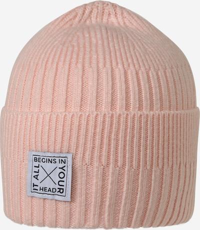Megzta kepurė 'Shealyn' iš chillouts , spalva - rožinė / juoda / balta, Prekių apžvalga