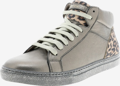 Camino71 Sneaker in braun / hellbraun / gold / schwarz, Produktansicht
