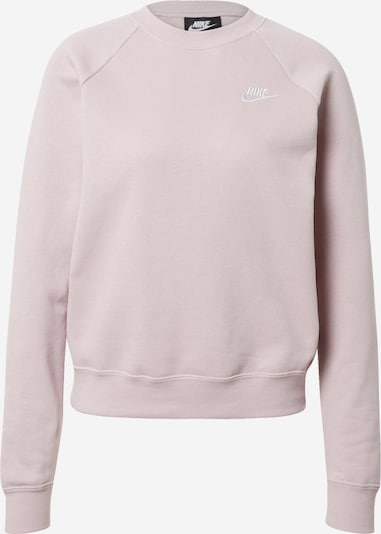 Bluză de molton Nike Sportswear pe șampanie / alb, Vizualizare produs