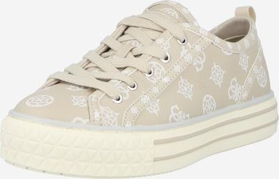 Sneaker low 'PEYTIN' GUESS pe nisipiu / alb, Vizualizare produs