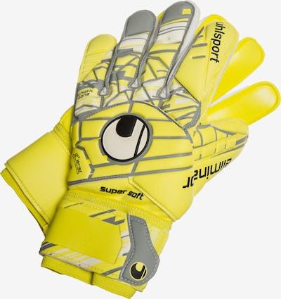 UHLSPORT Sporthandschuhe 'Eliminator' in gelb / grau, Produktansicht